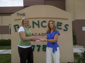 Donation to Ranches academy in Ealge Mountain