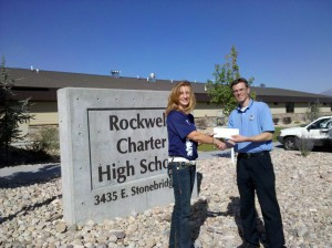Directcom donated to Rockwell Charter High