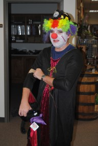 Jeremy as....a disturbed clown