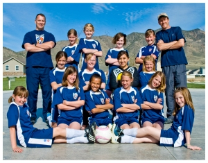 FC Blaze from Eagle Mountain U12 Team
