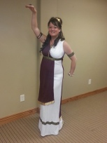 Brenda as Cleopatra