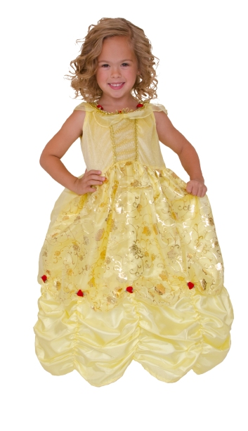 2013 yellow beauty dress up