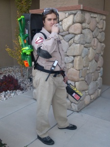 Ben - Dr Raymond Stantz from Ghostbusters