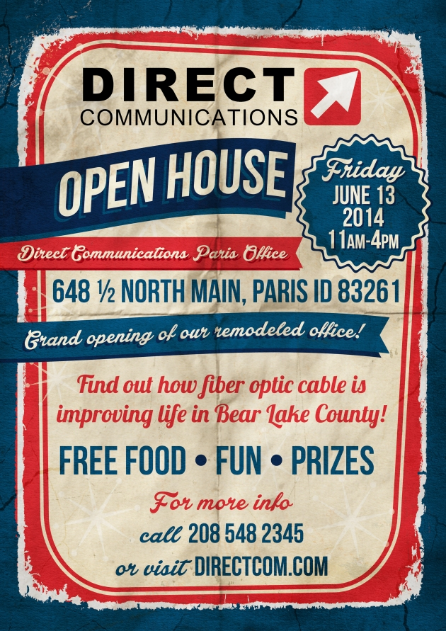 Join us for the grand opening of our remodeled Paris Idaho office and open house.