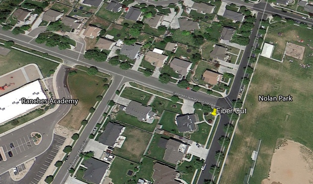 location of fiber cut crime