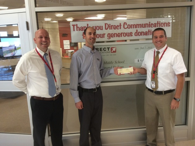 Directcom Sponsors Frontier Middle School Hope Squad Program - 2014