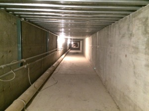 2015 Grace underground tunnel